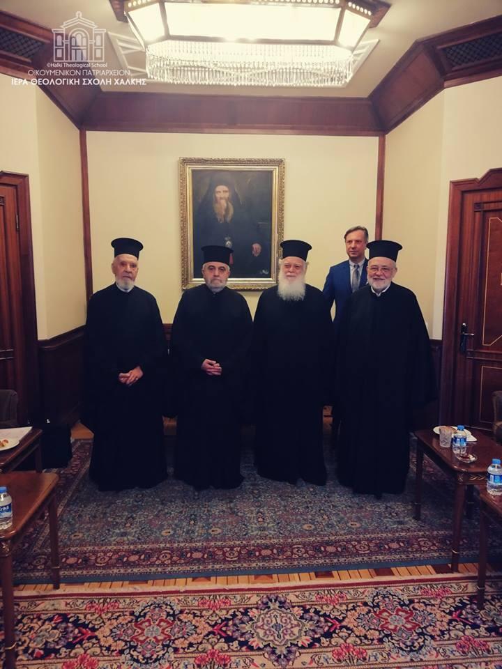Μνημόνιο συνεργασίας Θεολογικής Σχολής Χάλκης με Διορθόδοξο Κέντρο Εκκλησίας της Ελλάδος
