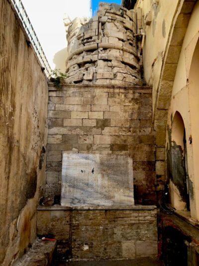 Βρέθηκε τουρκική επιγραφή στην βασιλική του Αγίου Μάρκου στο Ηράκλειο