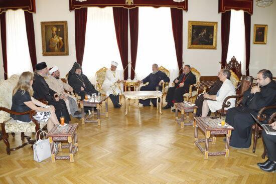 Αρχιεπισκοπή Κύπρου: Συνάντηση και Γεύμα Θρησκευτικών Ηγετών με Διπλωματική Κοινότητα