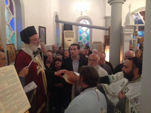 Πανηγυρικός Εσπερινός του Αγίου Χριστοφόρου στα Κελλιά Πεδιάδος