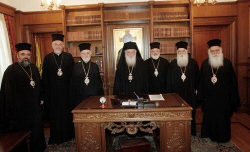 Στον Αρχιεπίσκοπο επιτροπή του Οικουμενικού Πατριαρχείου για το Ουκρανικό εκκλησιαστικό ζήτημα