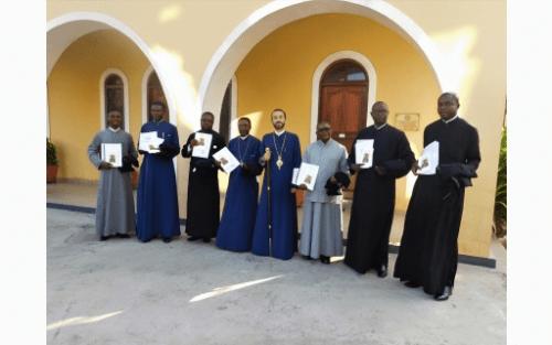 Ιερατική Σύναξη στη Μητρόπολη Μπραζαβίλ