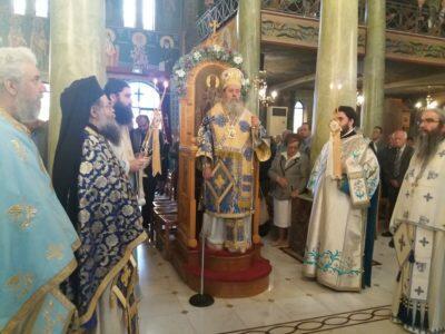 Κυριακή της Σαμαρείτιδος στη Μητρόπολη Πατρών