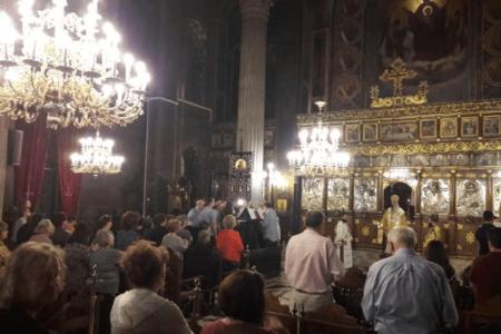 Ανάληψη του Κυρίου: Αγρυπνία στον Άγιο Νικόλαο Χαλκίδος