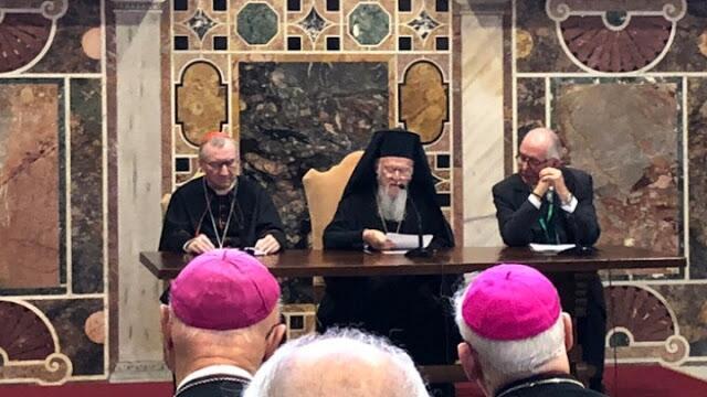 Ο Οικουμενικός Πατριάρχης σε συνέδριο στο Βατικανό