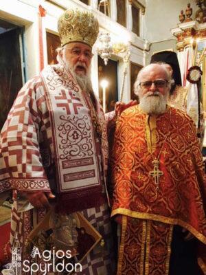 Νέος Πρωτοπρεσβύτερος ο π. Γεώργιος Άνθης στη Μητρόπολη Κερκύρας