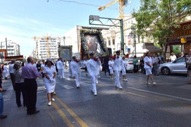 Πειραιάς: Λαμπρός ο εορτασμός των Αγίων Κωνσταντίνου και Ελένης (ΦΩΤΟ)