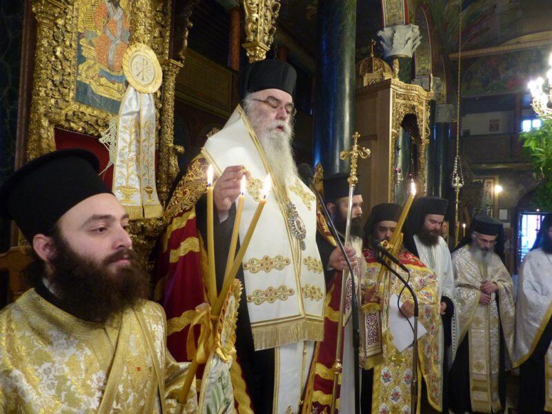 Ο Εσπερινός της Πεντηκοστής στον Ιερό Μητροπολιτικό Ναό Καστοριάς