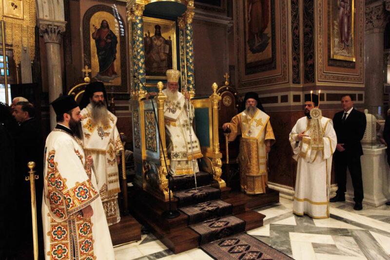 Κυριακή της Πεντηκοστής: Στη Μητρόπολη Αθηνών ο Αρχιεπίσκοπος
