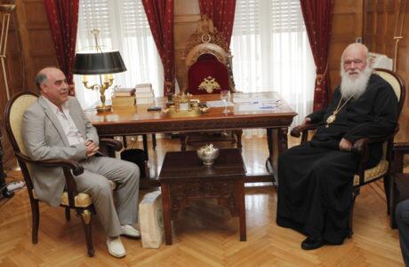 Εκκλησία της Ελλάδος: Συναντήσεις Αρχιεπισκόπου