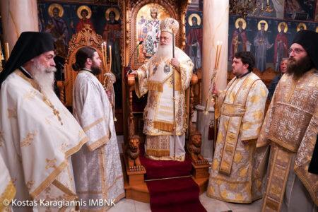 Ανάληψη του Κυρίου: Αγρυπνία στη Μονή Παναγίας Δοβρά Βεροίας