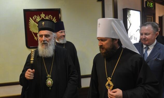 Στη Μόσχα ο Πατριάρχης Σερβίας Ειρηναίος