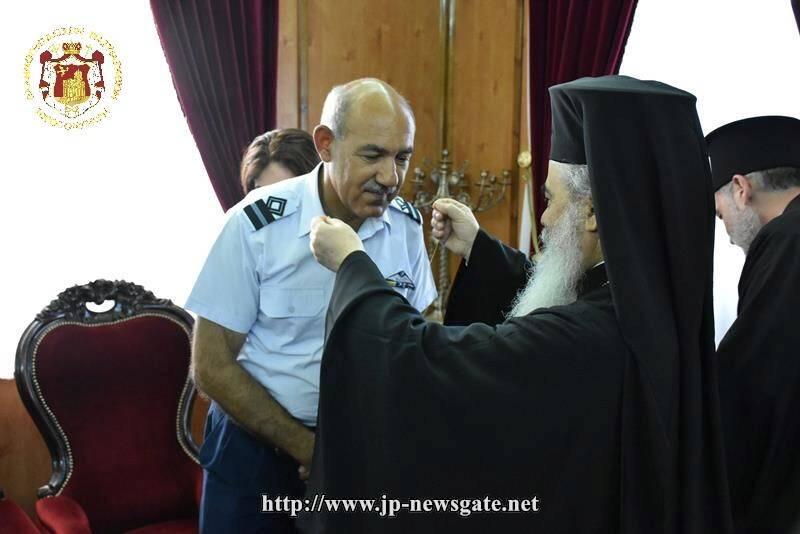Στο Πατριαρχείο Ιεροσολύμων ο Αρχηγός Αεροπορικών Δυνάμεων της Κύπρου