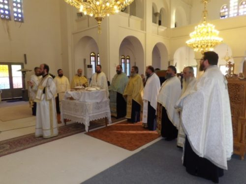 Πλήθος πιστών στην Εορτή του Αγίου Πνεύματος στη Νεμέα