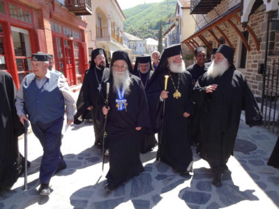 Στο Άγιο Όρος ο Πατριάρχης Αλεξανδρείας