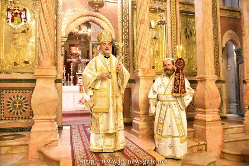 Ιεροσόλυμα: Λαμπρή Εορτή Αποδόσεως του Πάσχα στον Ναό Αγίων Κωνσταντίνου και Ελένης
