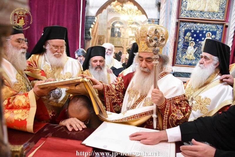 Η Χειροτονία του νέου Αρχιεπισκόπου Μαδάβων Αριστοβούλου