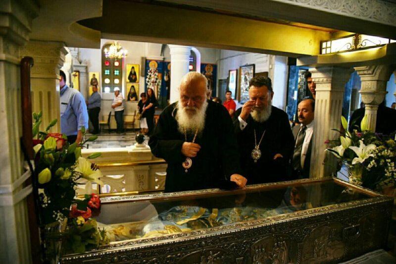 Προσκυνηματική Επίσκεψη του Αρχιεπισκόπου στην Εύβοια