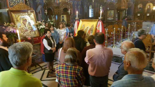Αναλήψεως: Ενάτη του Πάσχα και Εσπερινός Αναλήψεως στην Αγία Τριάδα Νέας Κηφισιάς
