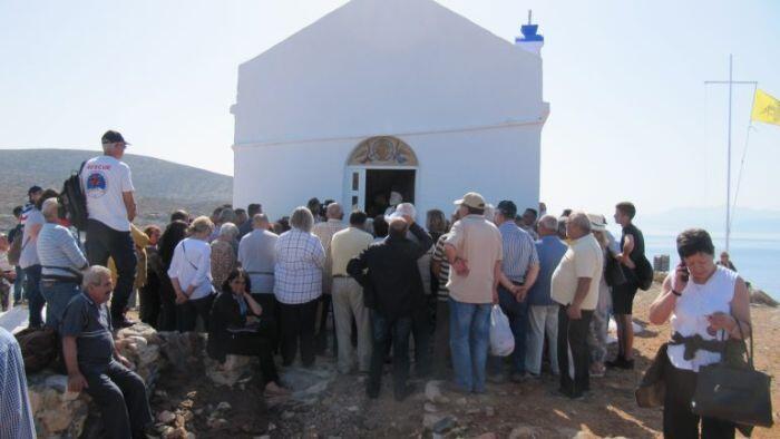 Στο νησάκι Ντία γα την εορτή της Αναλήψεως ο Κρήτης Ειρηναίος