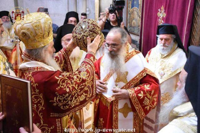 Η Χειροτονία του νέου Αρχιεπισκόπου Μαδάβων Αριστοβούλου (ΒΙΝΤΕΟ – ΦΩΤΟ)