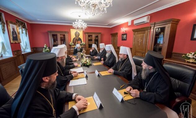 Συνεδρίασε η Ιερά Σύνοδος της Ορθοδόξου Εκκλησίας της Ουκρανίας - ανακοίνωση