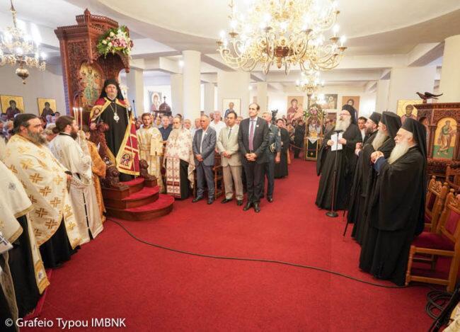 Μονή Παναγίας Δοβρά: Πολυαρχιερατικός Εσπερινός επί τη εορτή της μετακομιδής των ιερών λειψάνων του Αγίου Λουκά