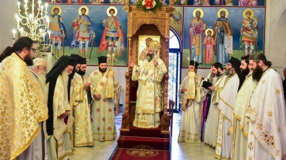 Η εορτή των Αγίων Κωνσταντίνου και Ελένης στην Ιερά Μητρόπολη Λαγκαδά