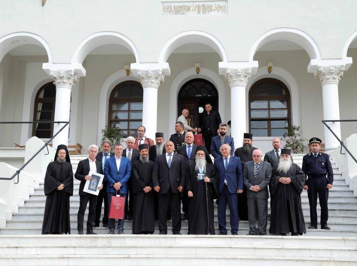 Άγιο Όρος: Ο Βούλγαρος Πρωθυπουργός στις Καρυές