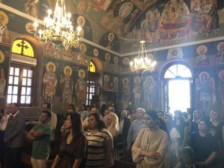Θεία Λειτουργία στον Ιερό Ναό Αγίας Όλγας ΝΙΜΙΤΣ