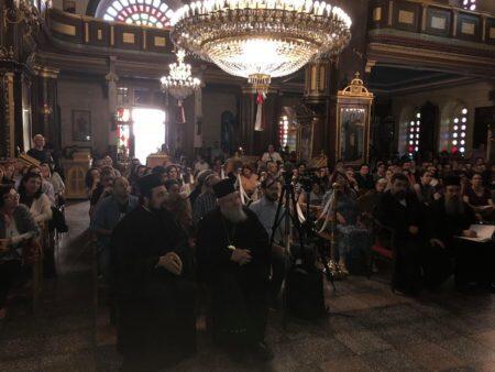 Χανιά: Εκατοντάδες πιστοί στην ομιλία του Μητροπολίτη Μεσογαίας