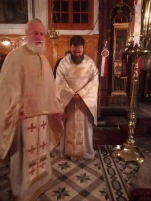 Λευκάδα: Η Αρχιερατική Αγρυπνία της Αποδόσεως του Πάσχα στον Ναό Αγίου Σπυρίδωνος Λαζαράτων