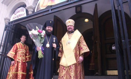Επίσκεψη στις ΗΠΑ του Προϊσταμένου της Διευθύνσεως του Πατριαρχέιου Μόσχας επί των Ιδρυμάτων Εξωτερικού