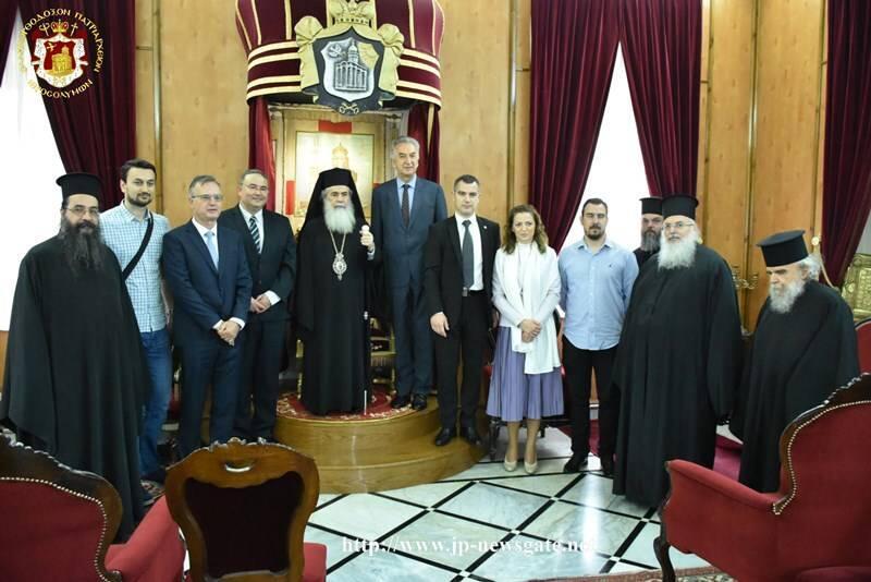 Στο Πατριαρχείο Ιεροσολύμων ο Υπουργός Εξωτερικού Εμπορίου της Βοσνίας