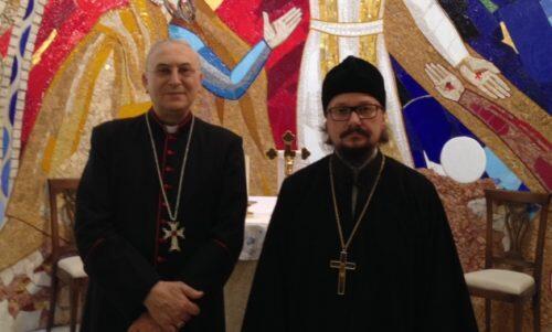 Εκπρόσωπος του Πατριάρχη Μόσχας παρά τον Πατριάρχη της Μεγάλης Θεουπόλεως Αντιοχείς στην αντιπροσωπεία του Βατικανού στη Δαμασκό