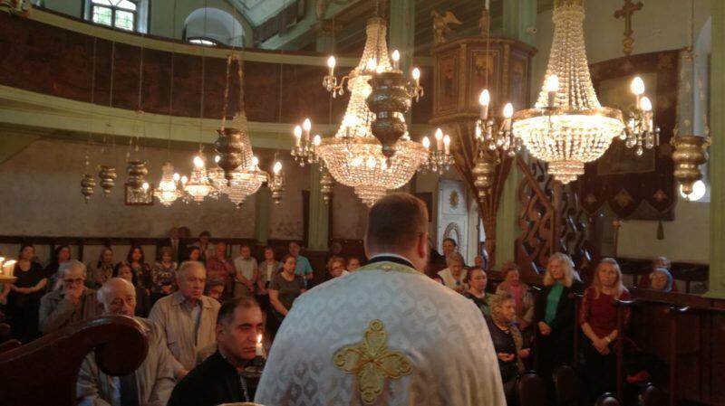 Θεία Λειτουργία στον ιστορικό Ιερό Ναό Θείας Αναλήψεως Υψωμαθείων