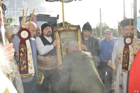 Πολίχνη: Υποδοχή της Ιεράς Εικόνος της Παναγίας Σουμελά - Εσπερινός Αναλήψεως
