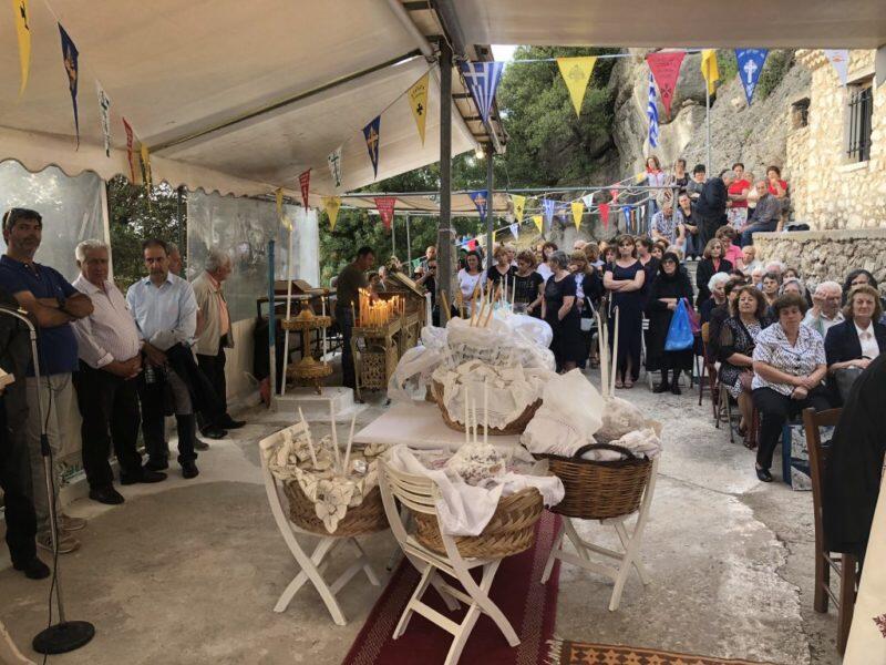 Λαμπρά εορτάσθηκε η μνήμη των Αγίων Πατέρων στην ομώνυμη Μονή Αλεξάνδρου Νικιάνας