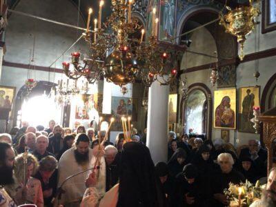 Συγκίνηση στο Μνημόσυνο της Γερόντισσας Χριστοδούλης, Καθηγουμένης της Ιεράς Μονής Ιερουσαλήμ