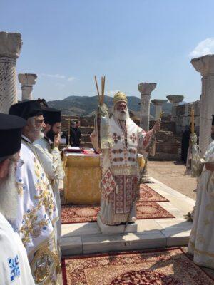 Στην Έφεσο λειτούργησε σήμερα ο Αλεξανδρείας Θεόδωρος
