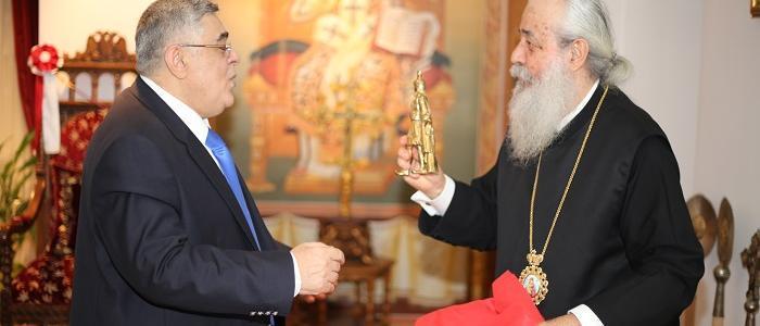 Ο Φθιώτιδος Νικόλαος υποδέχθηκε τον Αρχηγό της Χρυσής Αυγής, Νίκο Μιχαλολιάκο