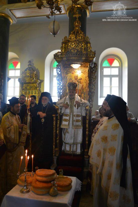 Η Πανήγυρις της Ι. Μονής Αγίας Τριάδος Χάλκης