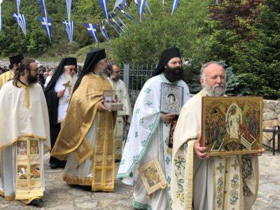 Λαμπρός Εορτασμός Αγίου Νικολάου του Nέου στην ομώνυμη Μονή Υψηλάντη