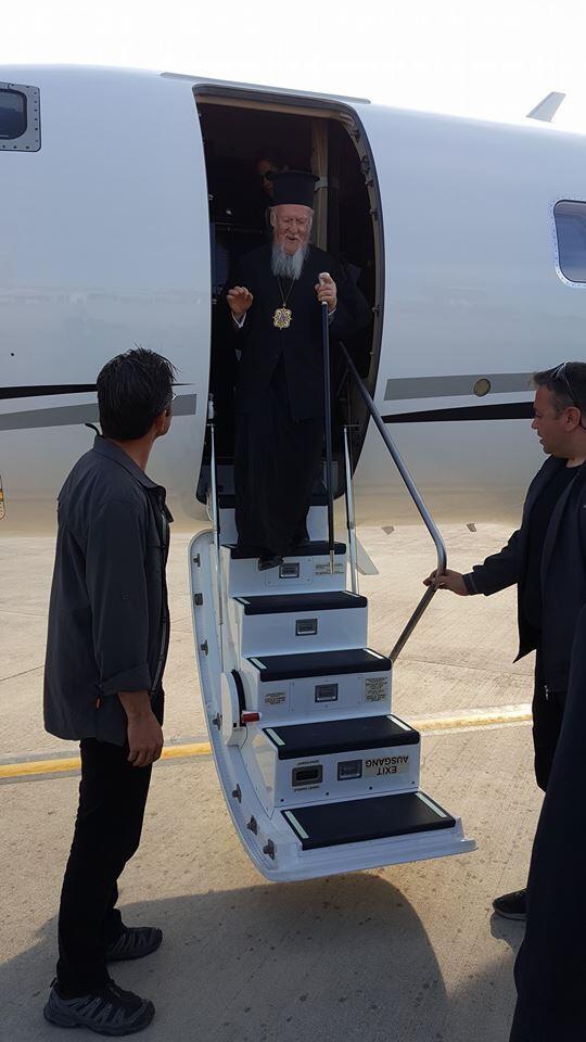 Στην Ίμβρο ο Οικουμενικός Πατριάρχης