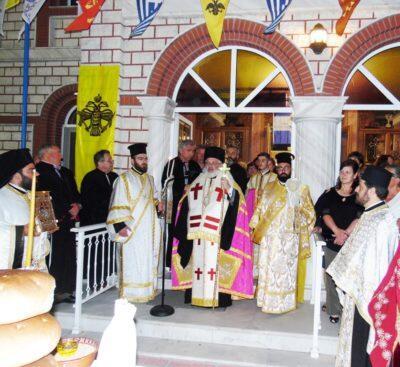 Εορτή της Αναλήψεως στη Μητρόπολη Διδυμοτείχου