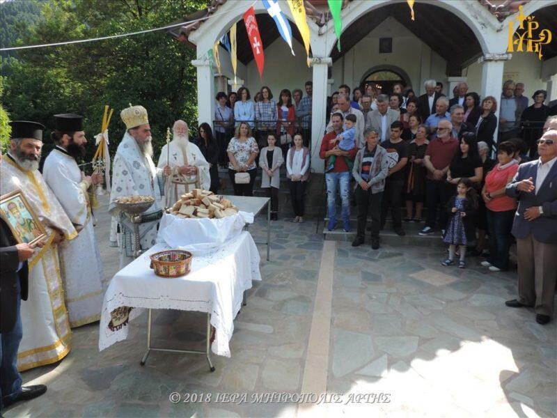 Άρτα: Εορτάσθηκε η Μετακομιδή των Ιερών Λειψάνων του Αγίου Νικολάου στον Φράξο