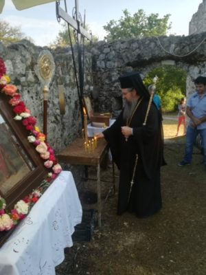 Εόρτασε η Ιερά Μονή Αγίου Ιωάννου του Θεολόγου στο «Ροδάκι» Βουρνικά