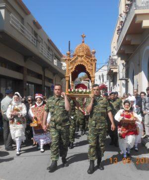 Η Χίος τίμησε τον Πρωτομάρτυρά της Άγιο Μεγαλομάρτυρα Ισίδωρο