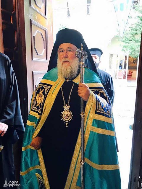 Κερκύρας: Η βλασφημία κατά του Αγίου Πνεύματος είναι η άρνηση της σώζουσας Θείας Χάριτος