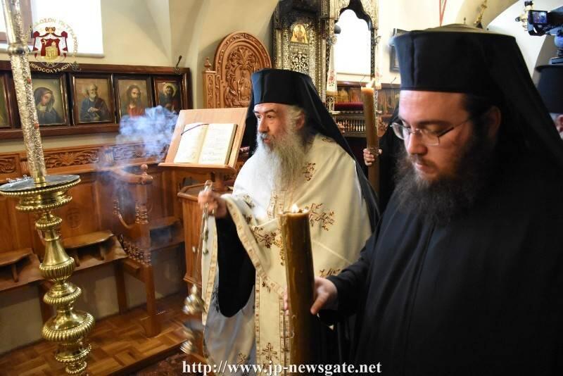 Ιεροσόλυμα: Το Μέγα Μήνυμα του νέου Αρχιεπισκόπου Κυριακουπόλεως